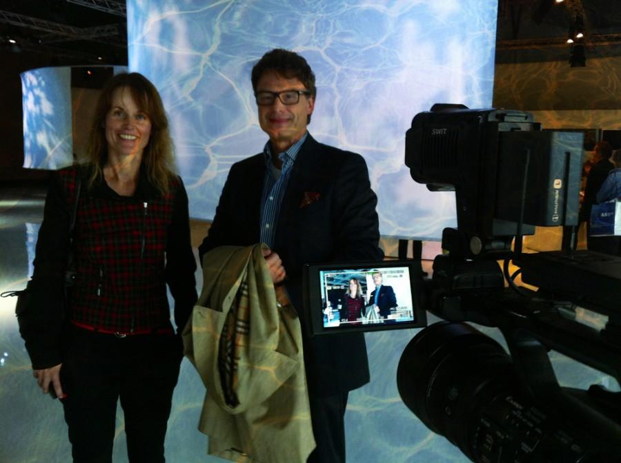 Frankfurter Buchmesse 2014 - Lesung Pavillon Gastland Finnland